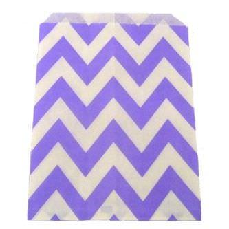 фиолетовый бумажный пакет