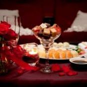Романтический вечер для любимой дома
