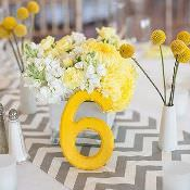 Солнечно желтый день рождения:  цветовая гамма праздника
