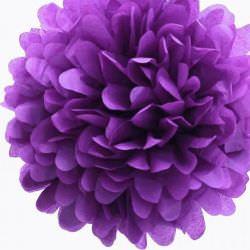 Фиолетовый помпон