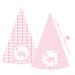шаблон для печати розовые колпаки со слоником