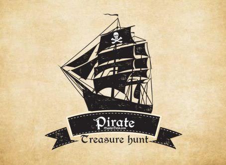 FunRrint John Silver's Treasures - printable pirate treasure hunt