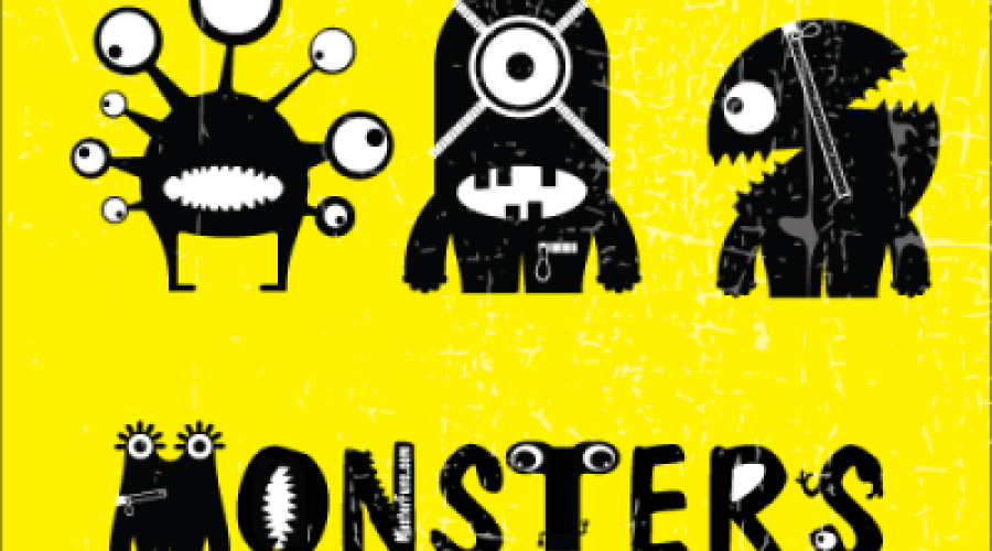 "FunPrint ""Monsters"" printable treasure hunt"