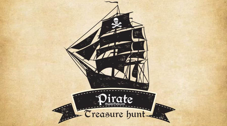 FunRrint John Silver's Treasures - printable pirate treasure hunt